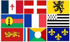 France Flag 5x3 - National Overseas & Regional French Flags - 52 To Choose From