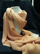 Womens Knit Scarf Soft Coral In Color