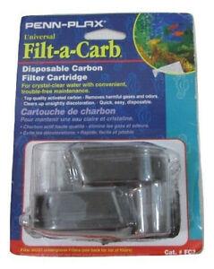 Pen-Plax FC3 Filt-a-Carb Universal Undergravel Cartridge (2 Pack) Sealed