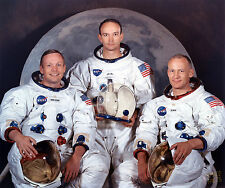 NEIL ARMSTRONG BUZZ ALDRIN MICHAEL COLLINS APOLLO 11 NASA ASTRONAUTS 8X10 PHOTO