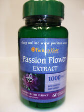 Passion Flower Extract 1000 mg 60 Capsules  Promotes Mood Support