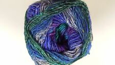 Noro Silk Garden Sock Yarn #S008 Purple Green & Blue Mix 100g