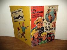 """E.O. Les Franval par E.aidans-Y Duval """"Visa pour 3 continents"""""""
