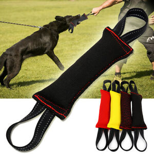 Jute Dog Bite Tug Chew Toys Builder Training for Police Dogs Bite Suit Fabric K9