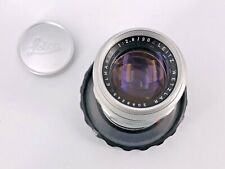 Leica Elmarit 90mm f2,8 M Silver + Case Sony Mirrorless Olympus Monochrom M10