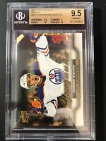 2015-16 Connor McDavid Young Guns Canvas #C211 Graded BGS 9.5 Gem Mint