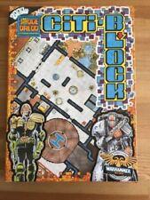 Games Workshop Judge Dredd RPG Citi-Block floorplans Warhammer 40k 1987
