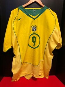 RONALDO - REAL MADRID BRAZIL SOCCER JERSEY - NEW  WITH NO TAGS - NIKE
