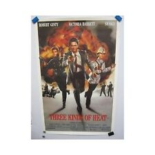 Three Kinds of Heat Original Home Video Movie Poster Robert Ginty Shakti