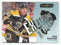 2017-18 UD Synergy Exceptional Talent #ET23 Brad Marchand Boston Bruins