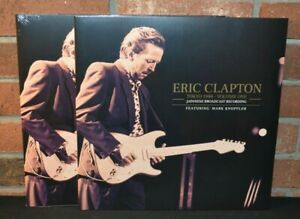 ERIC CLAPTON - Tokyo 1988, Ltd Import 4LP BLACK VINYL SET Gatefolds New & Sealed