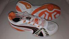Puma Handball Schuhe Volleyball Sportschuhe Gr 42 weiß schwarz orange