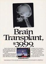 Original 1992 Final Fantasy MYSTIC QUEST Nintendo SNES video game print ad page