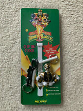 Mighty Morphin' Power Rarngers White Ranger Clip On Watch Unopened