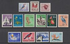 South Africa Sc 254-266 MNH. 1961 Definitives, complete set of 13, fresh