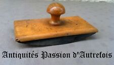 B2017741 - Ancien tampon buvard de bureau en bois