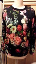 Stunning Ted Baker Edryss oil painting floral Autumn jumper Size 2 UK10 misprint