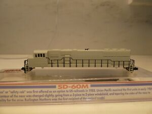 ATLAS N SCALE SD-60M UNDECORATED SHELL     SHELL ONLY