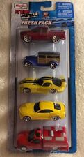 NEW Maisto Fresh Metal Fresh Pack of 5 (incl. Dodge Viper) NIP #1