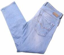 DIESEL Mens Jeans W36 L34 Blue Cotton Straight KROOLEY NK13