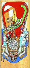 Williams Funhouse Pinball Maschine Spielfeld Overlay