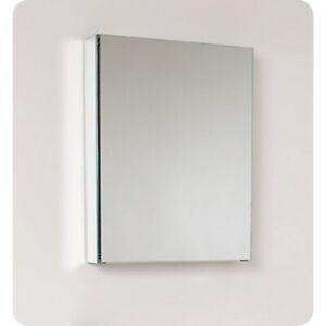 "Fresca FMC8058  20"" Wide x 26"" Tall Bathroom Medicine Cabinet with Mirrors"