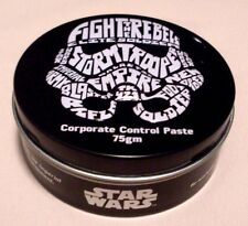 Brand New STAR WARS / DISNEY Storm Trooper Corporate Control Paste 75gm Tin - Au