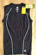 Womens Sunice Skins Compression Vest Top Gym Fitness Pilates Cycling 2 Colours