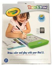 CRAYOLA TRACE AND DRAW USE  WITH IPAD 2 LOTS OF FUN FOR KIDS