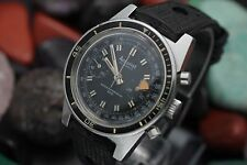 Vintage ACCURIST Chronograph Super Waterproof 300 Stainless Steel Diver's Watch
