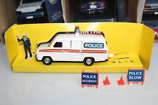 Dinky Toys Vintage 1978 Series FORD TRANSIT POLICE ACCIDENT UNIT #269