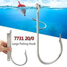 7731 20/0 Large Stainless Steel Fishing Hooks Saltwater Tuna Circle Fish Hook