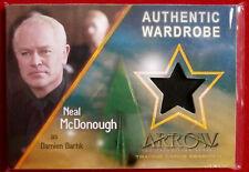 ARROW - Season 4 - NEAL McDONOUGH as Damien Darhk - Cryptozoic Costume Card M05