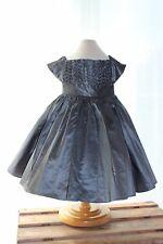 robe de fête Tartine et Chocolat neuve 6 ans,gris plomb,mariage,soirée vaut 800€