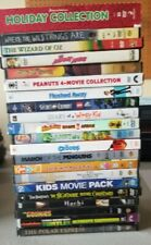 Lot of 38 Movie Dvds Kids Children , Croods, shrek, Peanuts, muppets, scooby doo