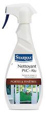 STARWAX NETTOYANT PVC ALU PORTE et FENETRES VAPORISATEUR 500 ML ref 562