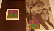 *LoveStory* Souvenir Program--Ryan O'Neal & Ali MacGraw