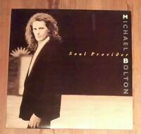 Michael Bolton – Soul Provider Vinyl LP Album 33rpm 1989 CBS – 465343 1