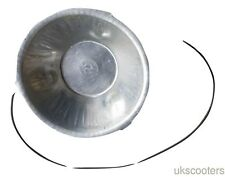 ukscooters LAMBRETTA FLYWHEEL DUST CAP WITH SPRING LOCK SIL NEW