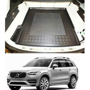 Volvo XC90 II LDPE boot tray or rubber load liner mat bumper protector 1-3 pcs