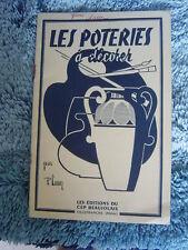 manuel les poteries a decorer par paul lauer edition du cep beaujolais rhone