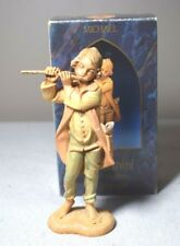 "Fontanini Michael Musician with Flute 5"" Nativity Figure Made in Italy"