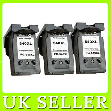 3 Black Ink Cartridge For Canon CL541XL PIXMA MG2150 MG3150 MG2250 MG3250