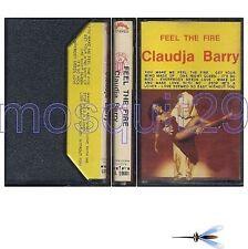"CLAUDJA BARRY ""FEEL THE FIRE"" RARE K7 ITALY - DISCO"