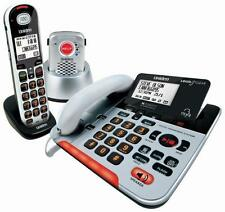 UNIDEN SSE37+1P VISUAL & HEARING IMPAIRED CORDLESS DIGITAL PHONE SYSTEM PENDANT