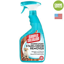 Simple Solution Hard Floor Stain + Odor Remover (Remove Dog Urine), 32-Ounce