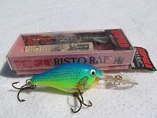 """RAPALA Risto Rap RR-5 PRT """"PARROT"""" Fishing Lure IRELAND"""