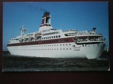 POSTCARD SEA - CRUISE LINES M.S ASTOR AT CAPE TOWN