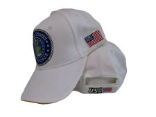 U.S. Air Force Airforce USAF White Emblem Rim USA Patch Embroidered Cap Hat