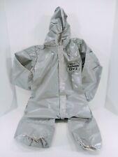 New Dupont Tychem Cpf2 Hazmat Chemical Protective Suit Size Medium Lot Of 3